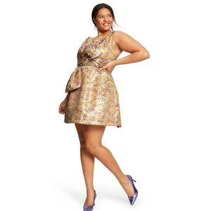 Zac Posen Target Brocade Party Dress Size 20W